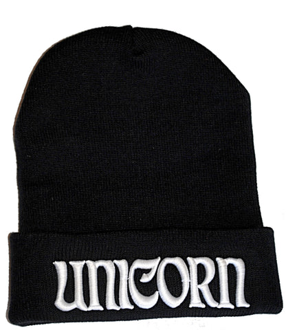 The Last Unicorn 3D Pop Embroidered Beanie