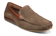 FLORSHEIM DIRTY DUCK OVAL PERF DRIVER SHOES in size 13 m, 14 m at lil johns big and tall