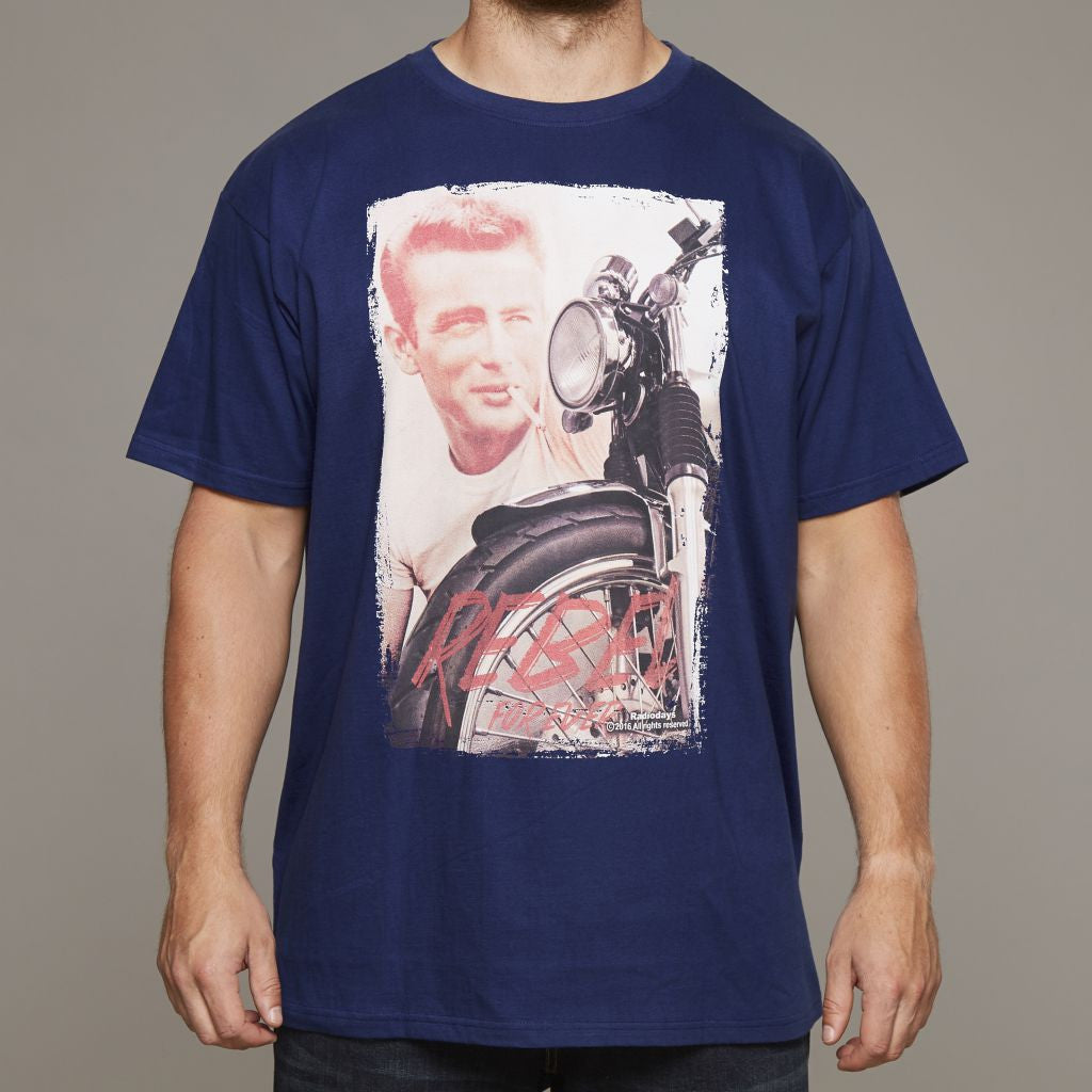 Replika James Dean Printed T-Shirt