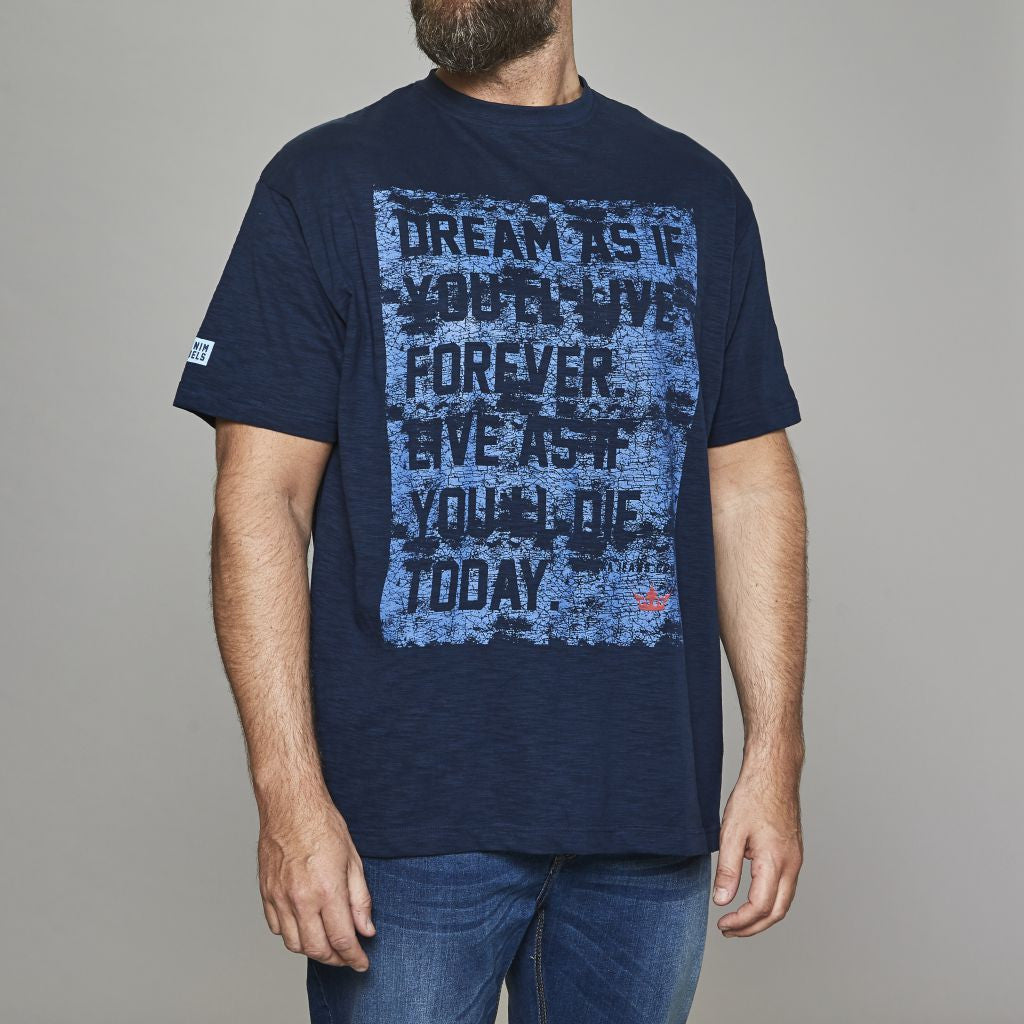 Replika Dream Forever Printed T-Shirt