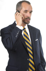 Petrocelli Wool Blend Black Stripe Suit Separate Pants at lil johns big and tall.com