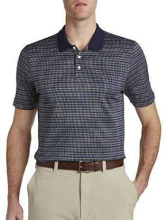 Cutter & Buck Ulysses Mercerized Jacquard Polo