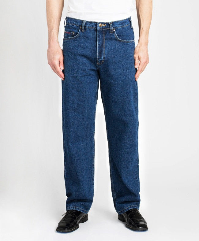 Grand River Blue Classic Relaxed Fit Jeans BIG MEN (28, 30, & 32 inseam)