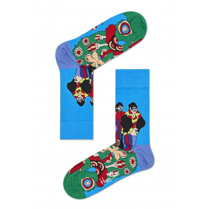 Beatles limited edition Pepper Land socks from Happy Socks at lil johns big and tall in Pensacola Florida and online