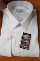 MODENA WHITE  POPLIN DRESS SHIRT