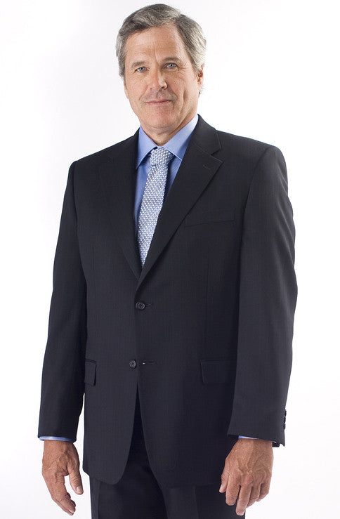 Petrocelli Wool Blend Navy Stripe Suit Separate Pants at lil johns big and tall mens clothing