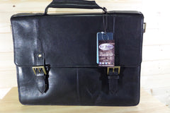 Hidesign Leather laptop brief case @ Lil johns big and tall mens fashion in Pensacola Fl