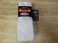 Extra Wide Tube sock size 9-15 and up to 6e 3 pairs @ www.LilJohnsBigAndTall.com Lil Johns Big And Tall men's Fashion