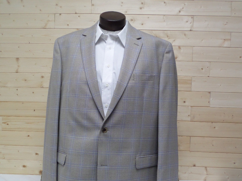 Shaquille O'neal Tan Plaid Sports Coats