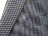 Jean Paul Germain Blue Houndstooth Sport coat at lil johns big and tall