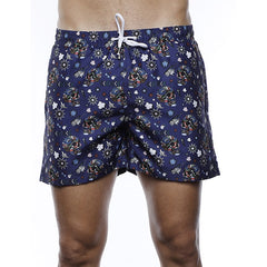 Luchiano Visconti Bottle Cap Skulls Swim Trunks