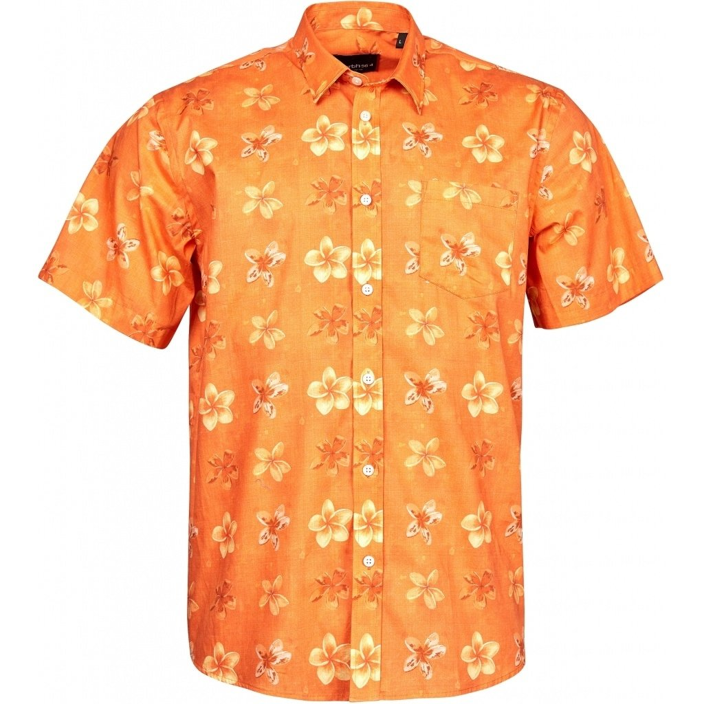 North 56.4 Floral Short Sleeve Sports Shirt