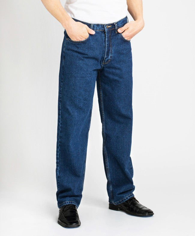 Grand River Blue Classic Jeans Relaxed Fit TALL MEN (34, 36, &38 inseam)