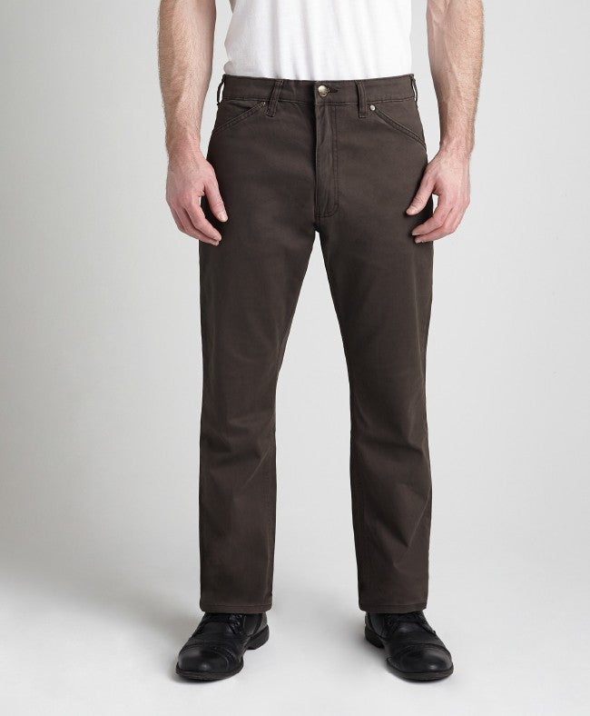 Grand River Lightweight Stretch Twill BROWN Pant BIG or TALL MEN (28, 30, 32, 34, & 36 inseam)