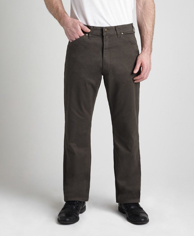 Grand River Lightweight Stretch Twill OLIVE Pant BIG or TALL MEN (28, 30, 32, 34, & 36 inseam)