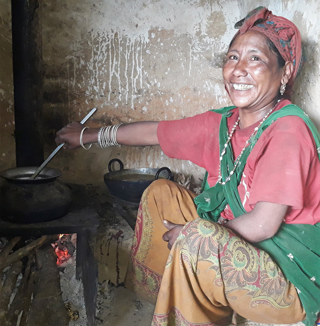 Fuel-Efficient Stove