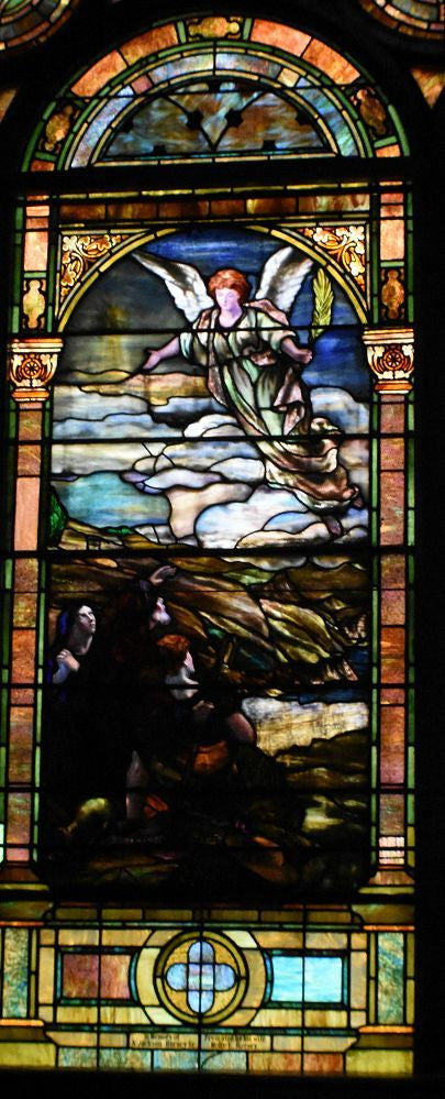 Stained Glass, Birth of Jesus