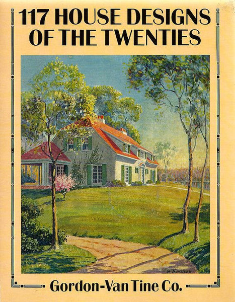 Book, 117 House Designs of the Twenties