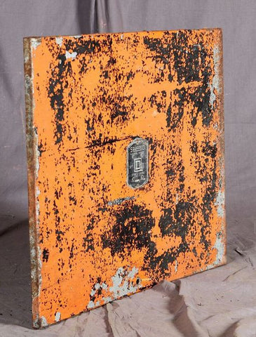 Electrical Cover, Square D, Orange