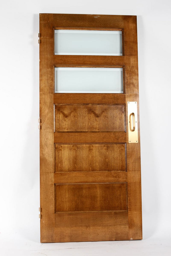 Door, Maple, Five Panel, 2 Lite, 36""