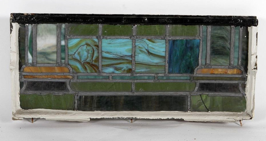 Stained Glass Window, 12.5 x 29.5""