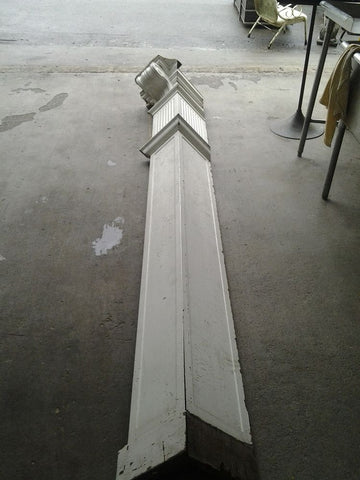 Antique Pilaster, 10'6""
