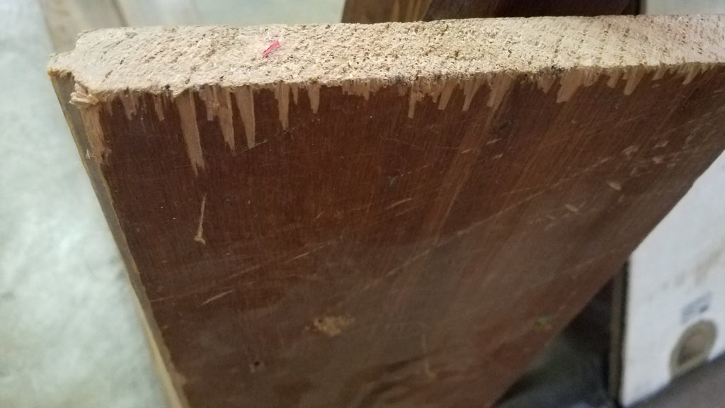 "Antique Pine Flooring - 8.5"" wide x 1"" thick"