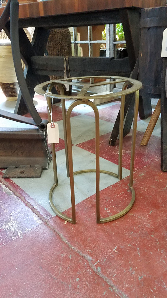 Gold-tone Metal Table Base
