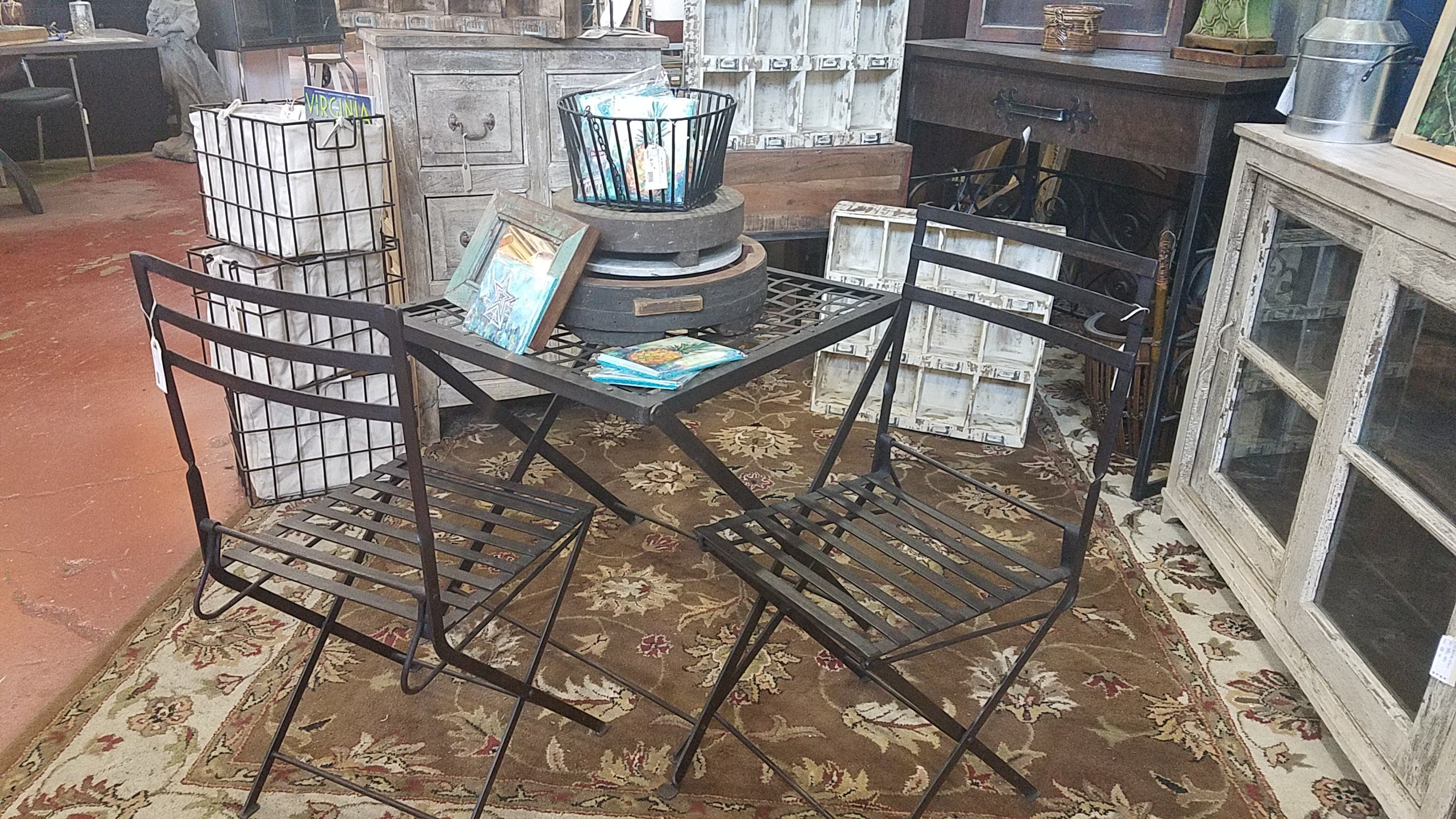 Iron Garden Chair Black Dog Salvage