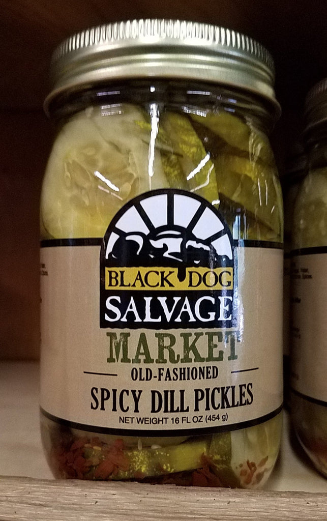 SPICY Dill Pickles