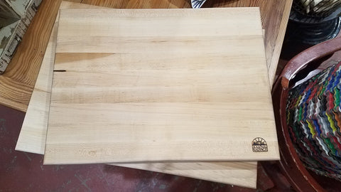 "Cutting Board, 1.75"" Thick"