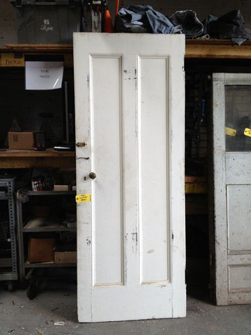 2 Panel Door with Carpenter Lock