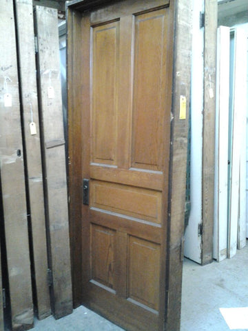 Interior Door with Jamb, Pine