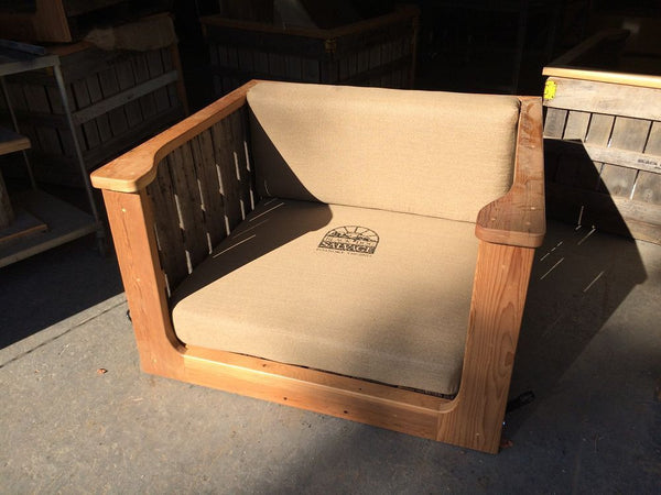 Cushion Set, Apple Crate Swing
