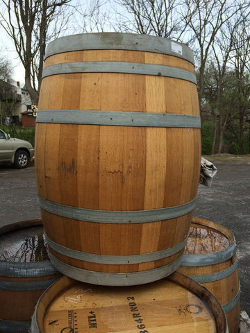 Custom Wine Barrel Sink