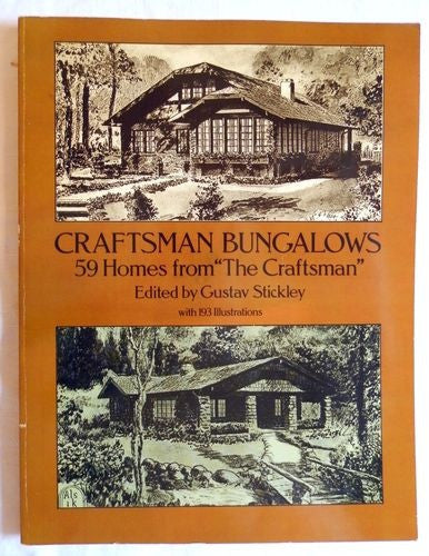 Book, Craftsman Bungalows