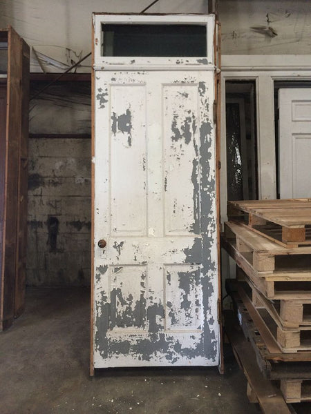 Door with Transom #8519