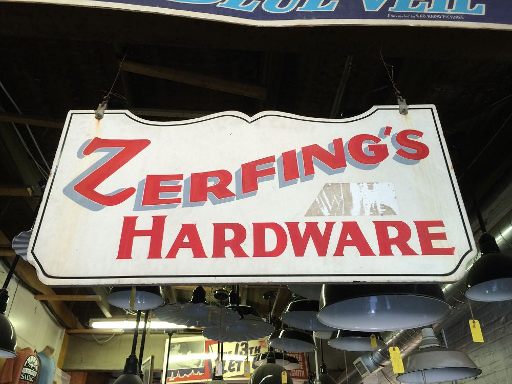 Sign, Zerfing's Hardware