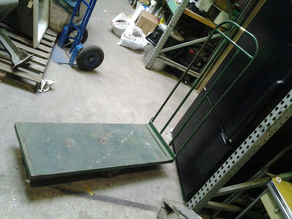 Green Industrial Cart