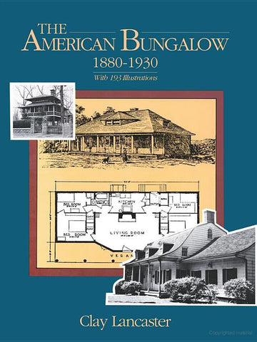 Book, The American Bungalow 1880-1930