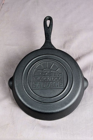 Cast Iron Skillet with BDS Logo