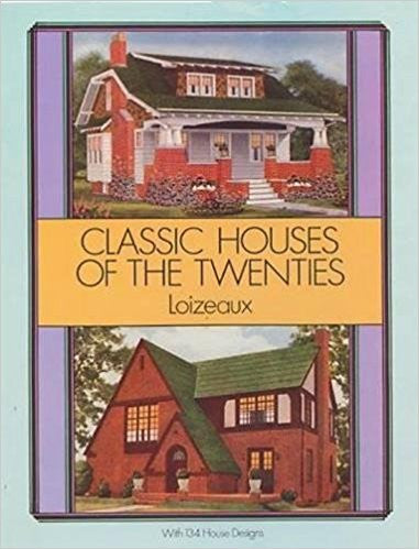 Book, Classic Houses of the Twenties