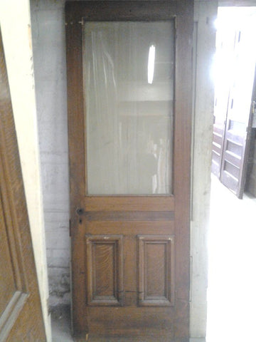 Door, 2 Panel, One Sash, Exterior