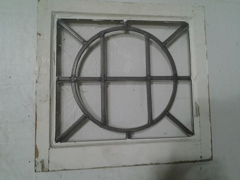 English Stained Glass, Clear Circle