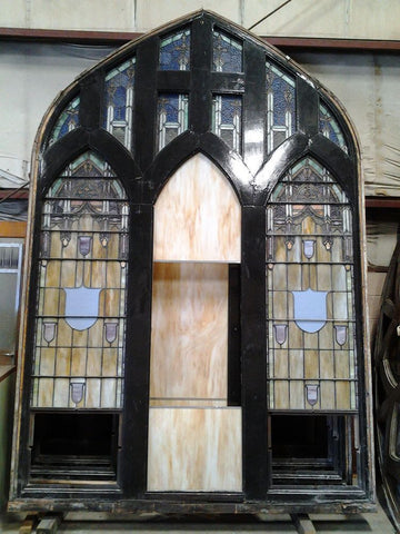 Arch Stained Glass, 11'4""