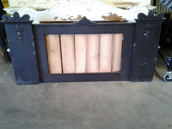 Wooden Overmantel, No Mirror