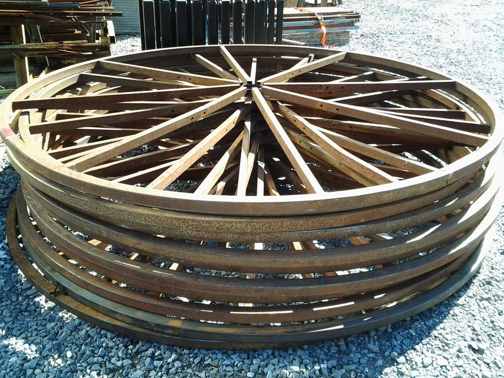 Large Steel Wheel