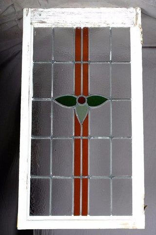 English Stained Glass, Holly Design