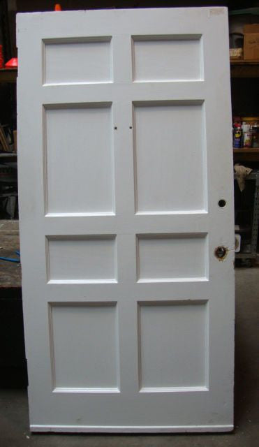 Door, Pine, 8 Panel, Painted