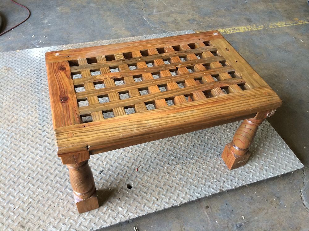 Teak Grill End Table
